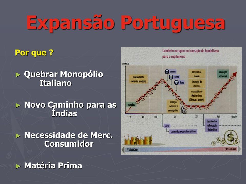 Expansão Portuguesa Por que Quebrar Monopólio Italiano