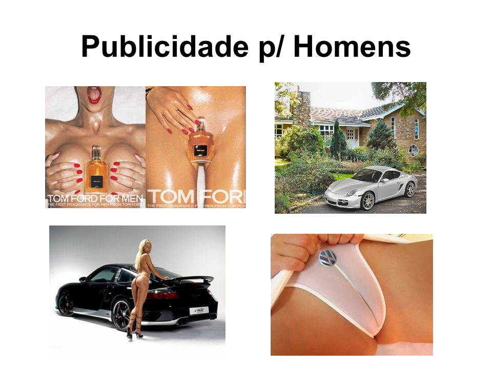 Publicidade p/ Homens