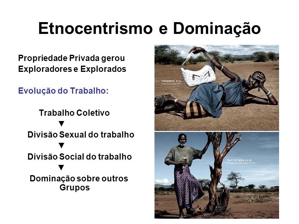Etnocentrismo e Dominação