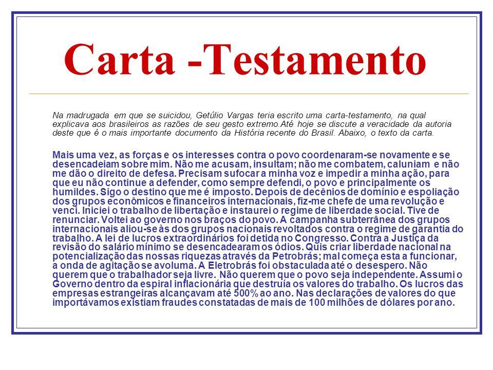 Carta -Testamento
