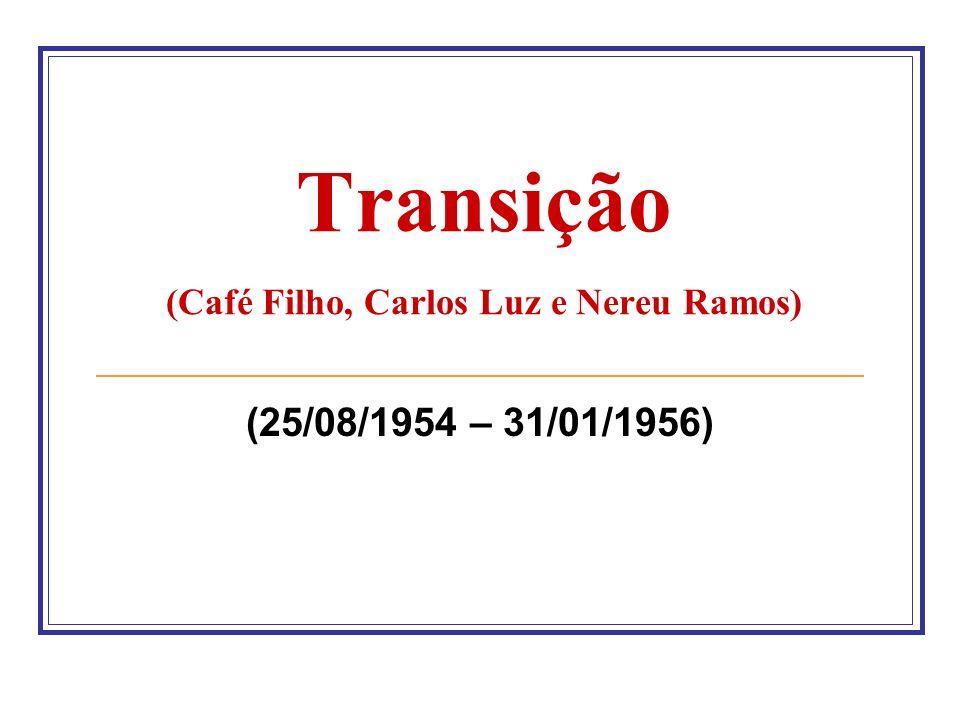 Transição (Café Filho, Carlos Luz e Nereu Ramos)