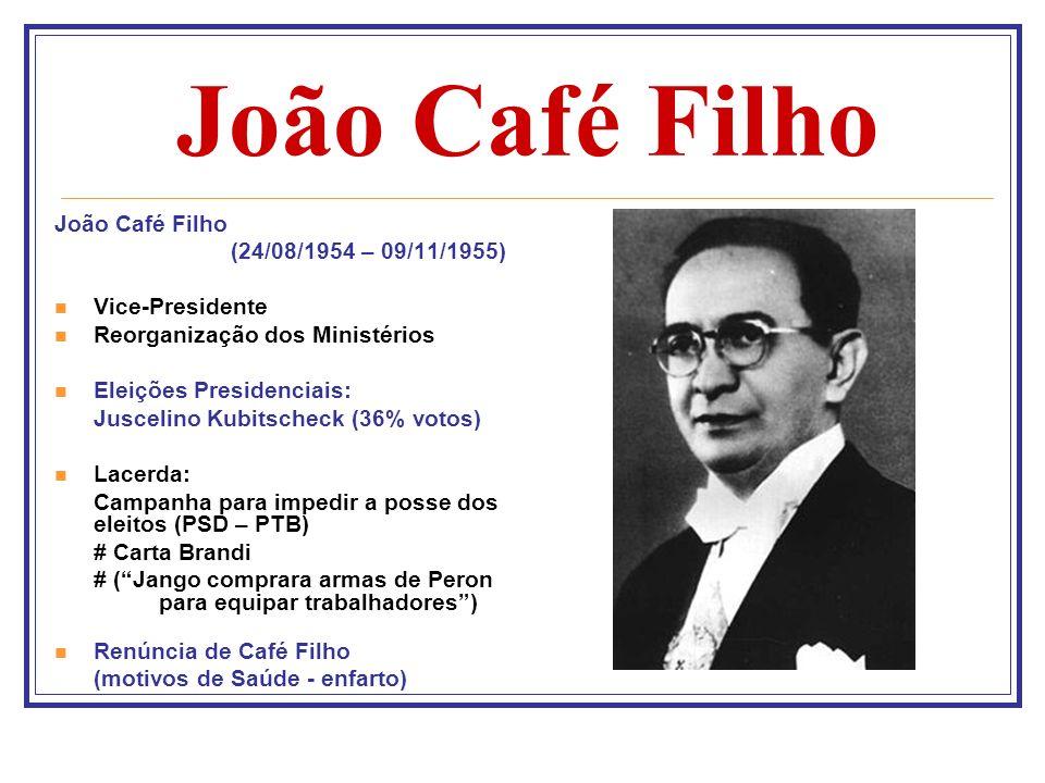 João Café Filho João Café Filho (24/08/1954 – 09/11/1955)