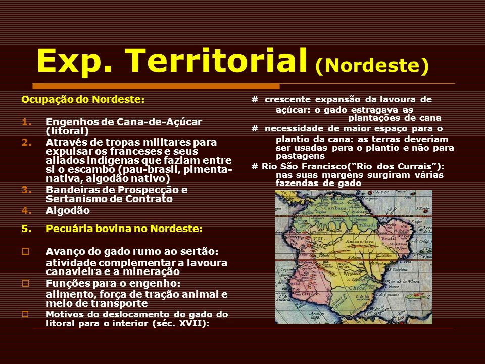 Exp. Territorial (Nordeste)
