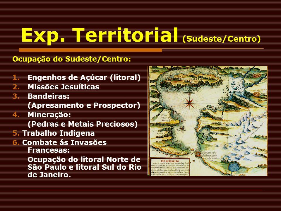 Exp. Territorial (Sudeste/Centro)