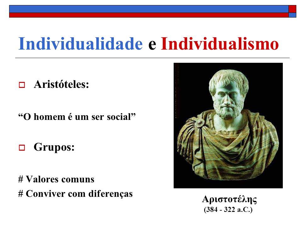 Individualidade e Individualismo