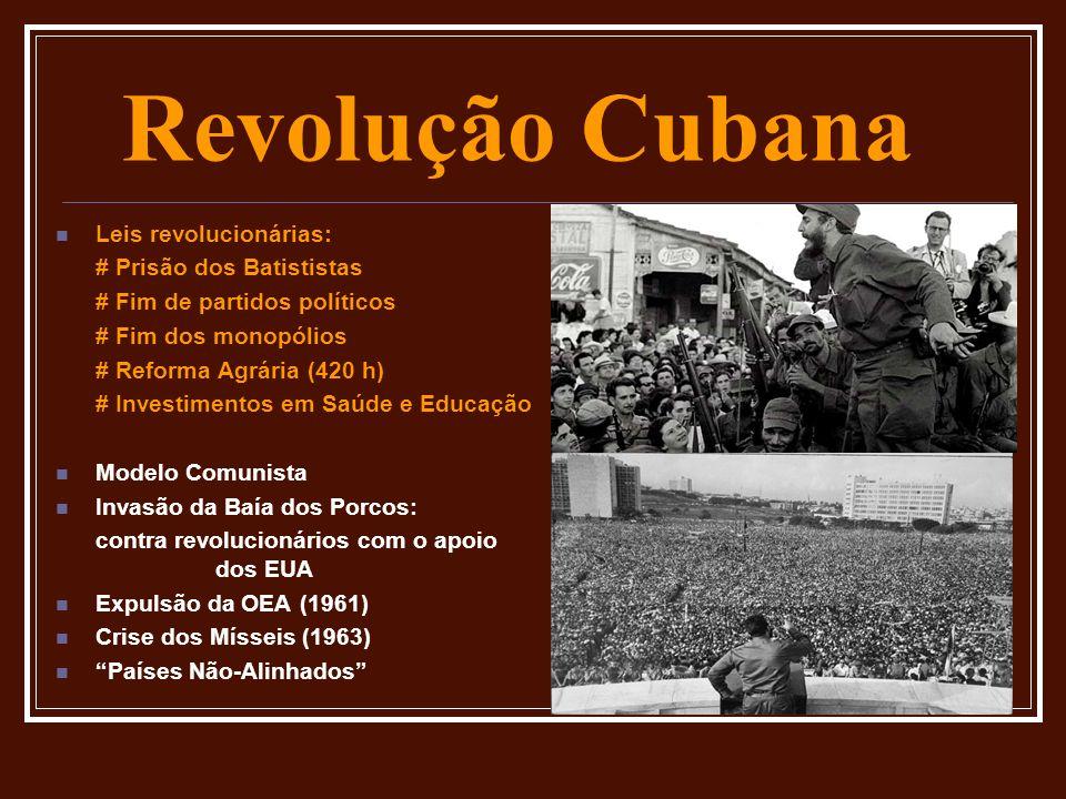 Revolução Cubana Leis revolucionárias: # Prisão dos Batististas