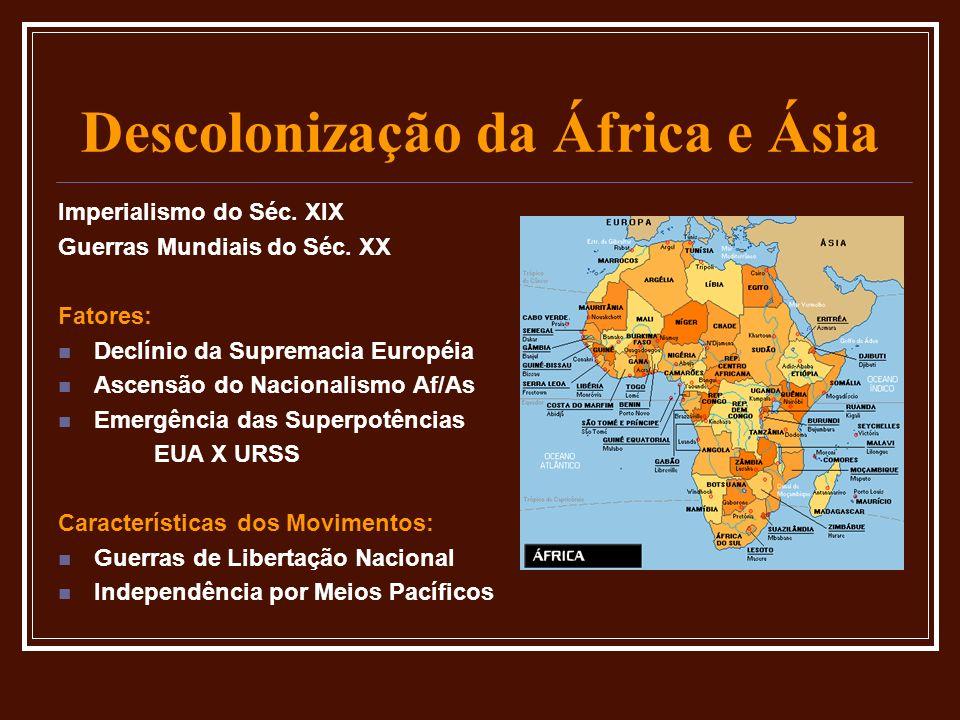 Descolonização da África e Ásia