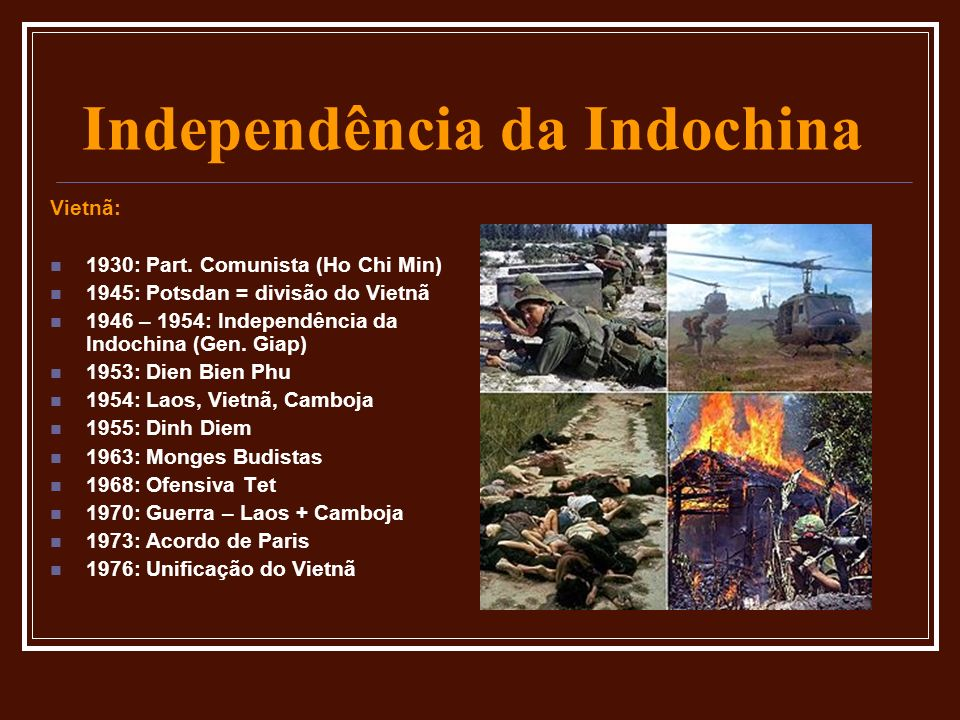 Independência da Indochina