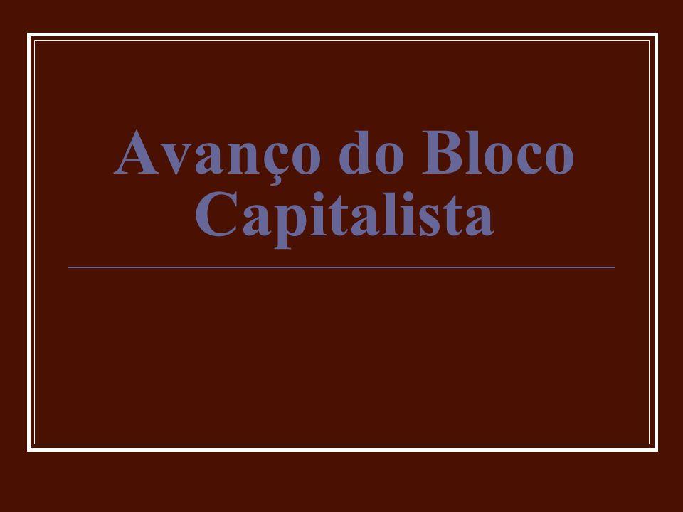 Avanço do Bloco Capitalista