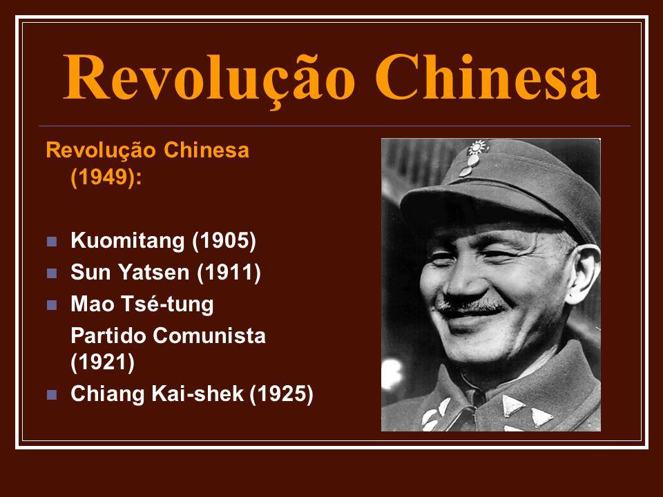 Revolução Chinesa Revolução Chinesa (1949): Kuomitang (1905)