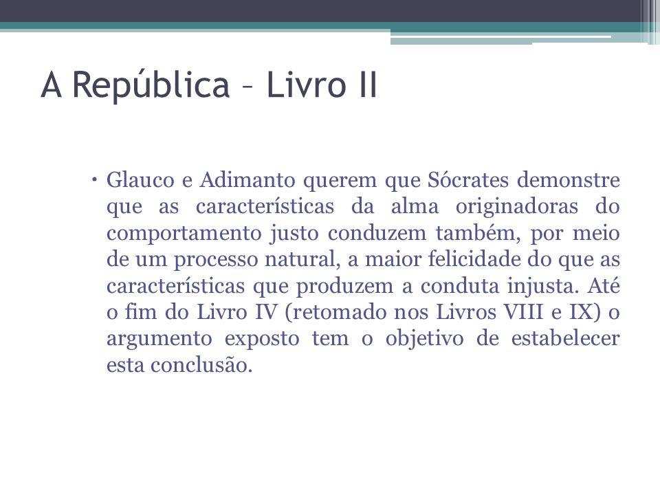 A República – Livro II