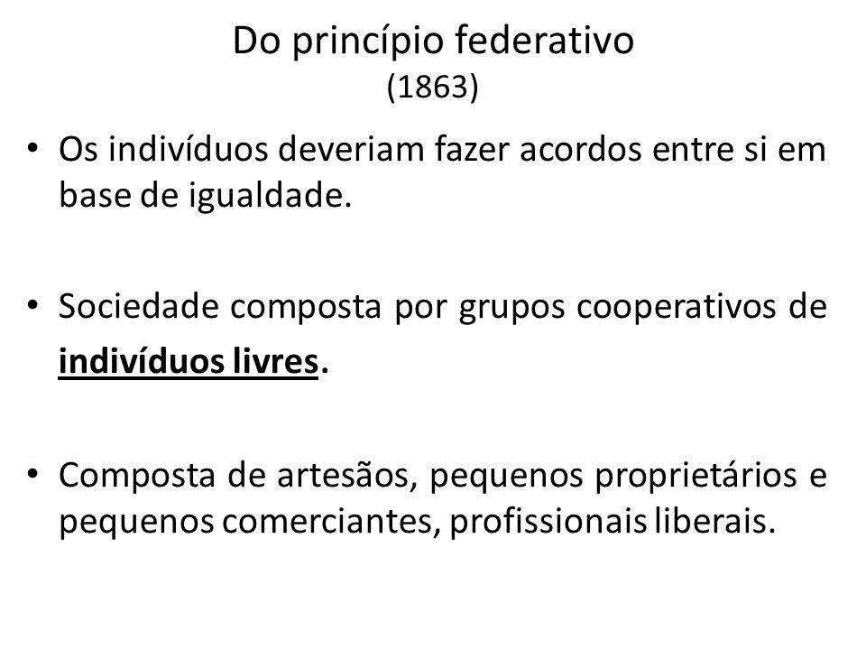 Do princípio federativo (1863)