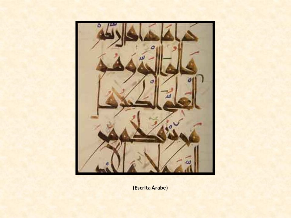 (Escrita Árabe)