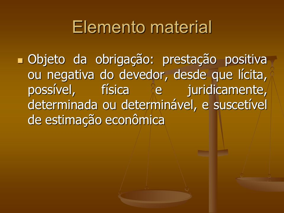 Elemento material