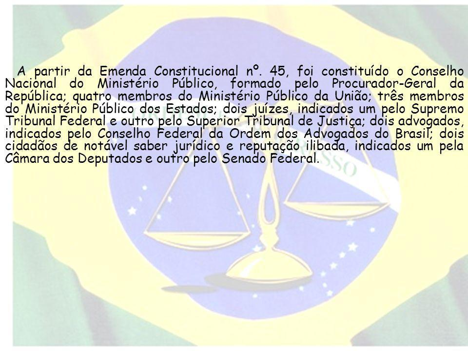 A partir da Emenda Constitucional nº