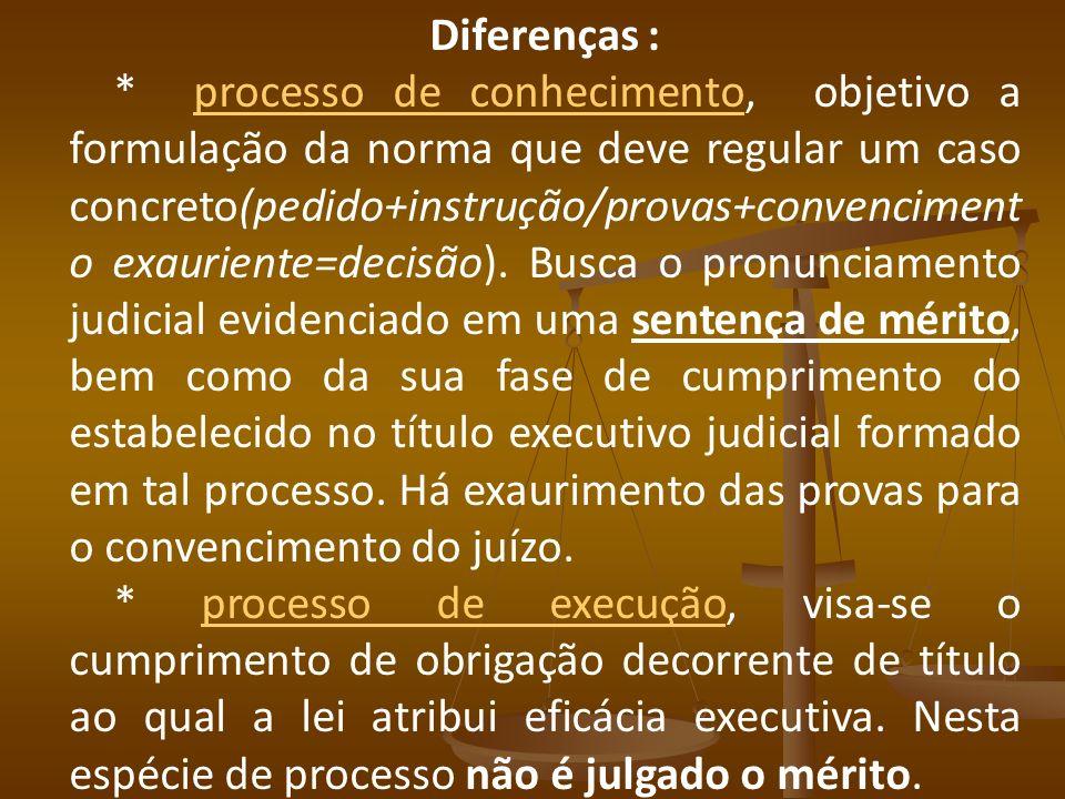Diferenças :