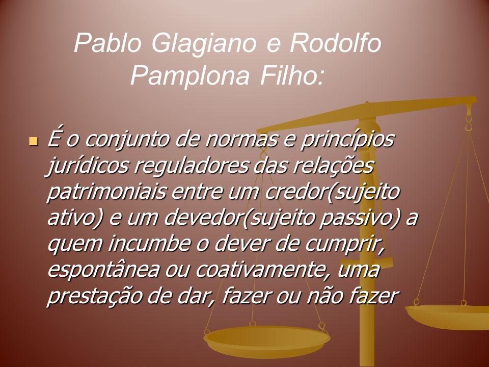 Pablo Glagiano e Rodolfo Pamplona Filho: