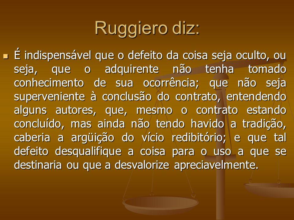 Ruggiero diz: