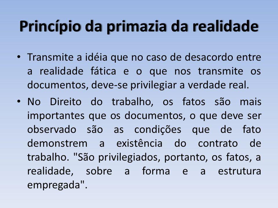 Princípio da primazia da realidade