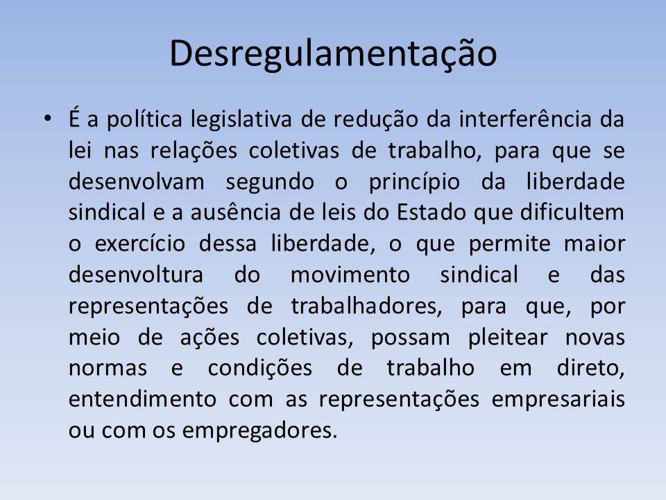 Desregulamentação
