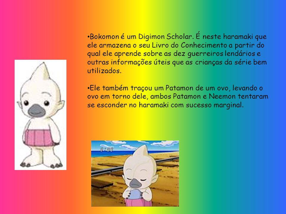 Bokomon é um Digimon Scholar