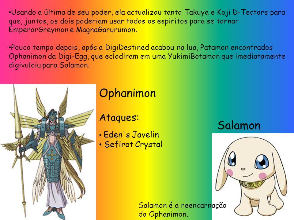Ophanimon Salamon Ataques: Sefirot Crystal