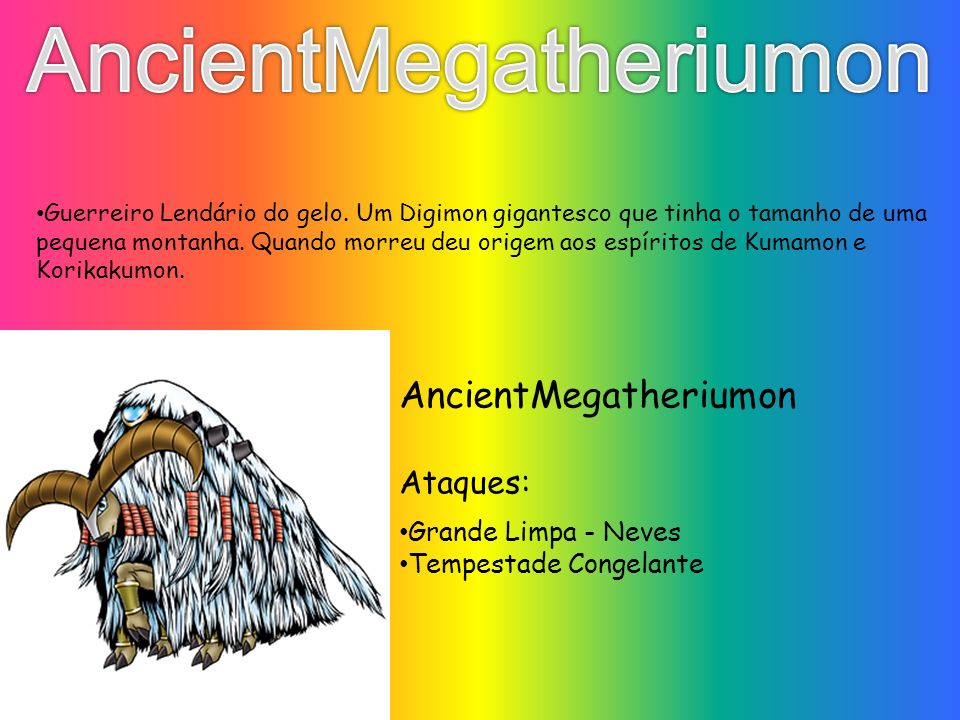 AncientMegatheriumon