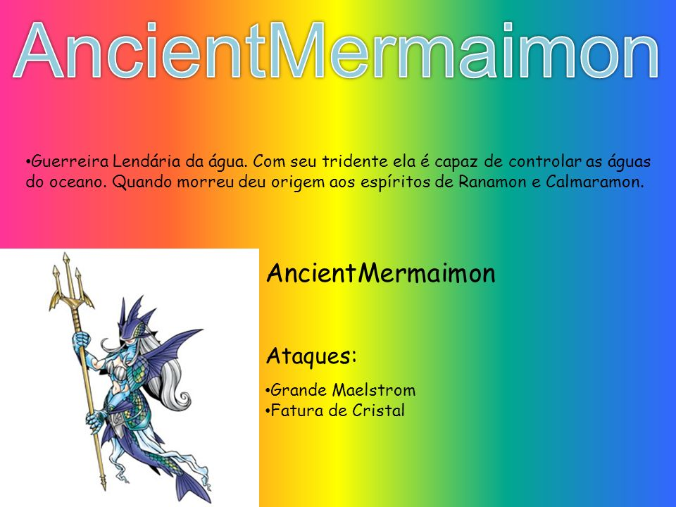 AncientMermaimon AncientMermaimon Ataques: