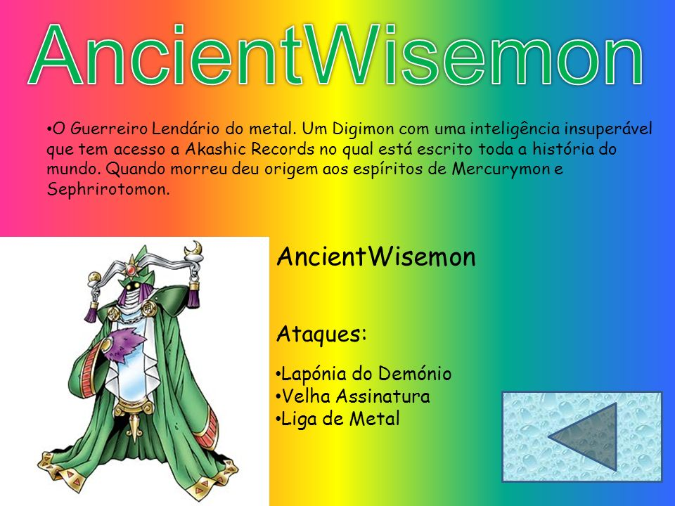 AncientWisemon AncientWisemon Ataques: Lapónia do Demónio