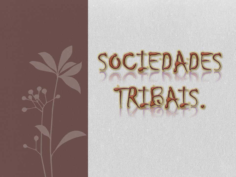 SOCIEDADES TRIBAIS.