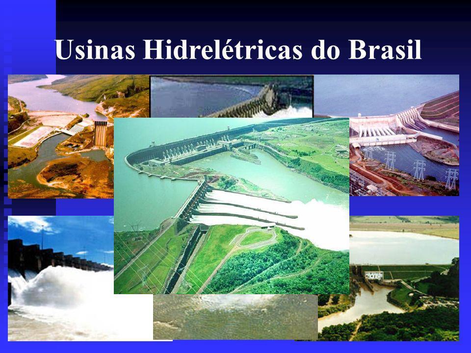Usinas Hidrelétricas do Brasil