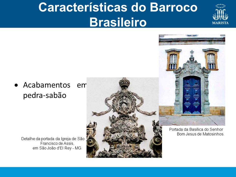 Características do Barroco Brasileiro Arquitetura