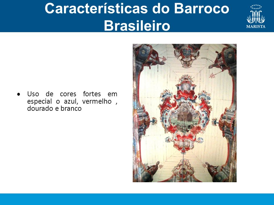 Características do Barroco Brasileiro Pintura