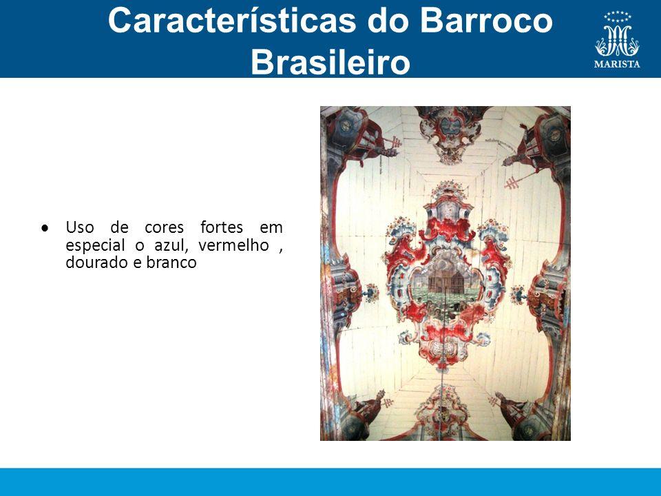 Características do Barroco Brasileiro Pintura