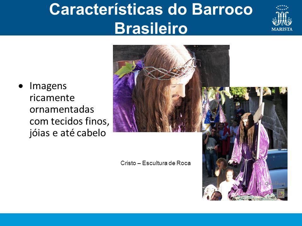 Características do Barroco Brasileiro Escultura