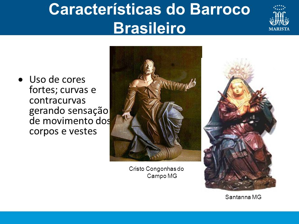 Características do Barroco Brasileiro Escultura