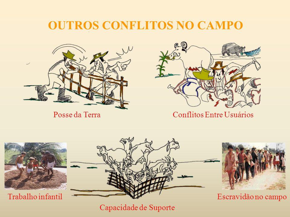 OUTROS CONFLITOS NO CAMPO
