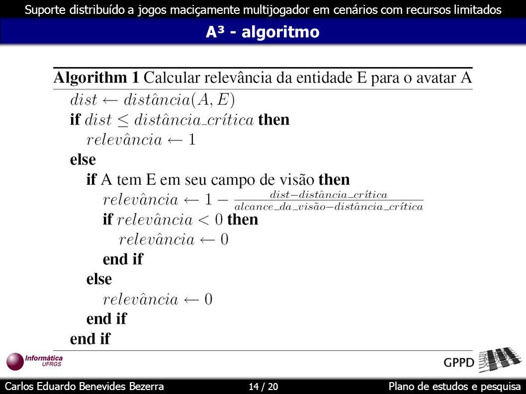 A³ - algoritmo