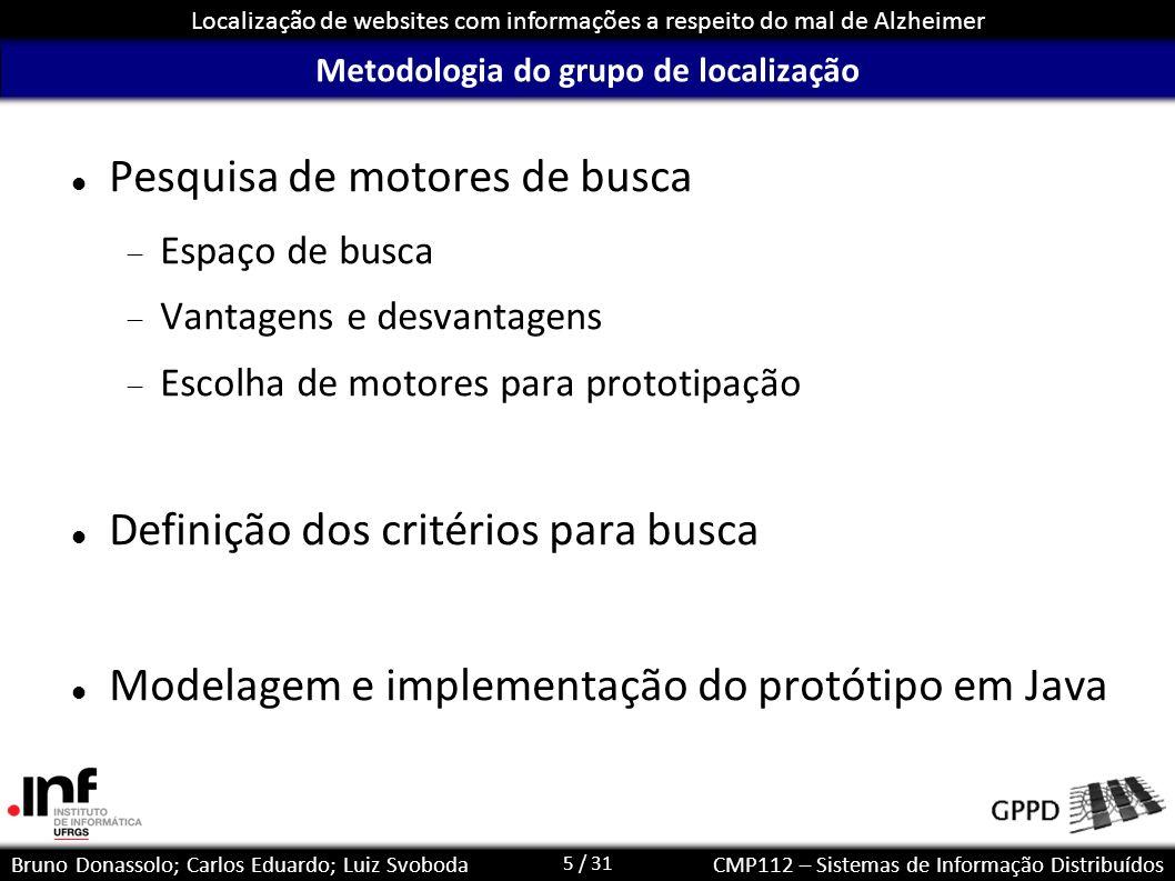 Metodologia do grupo de localização