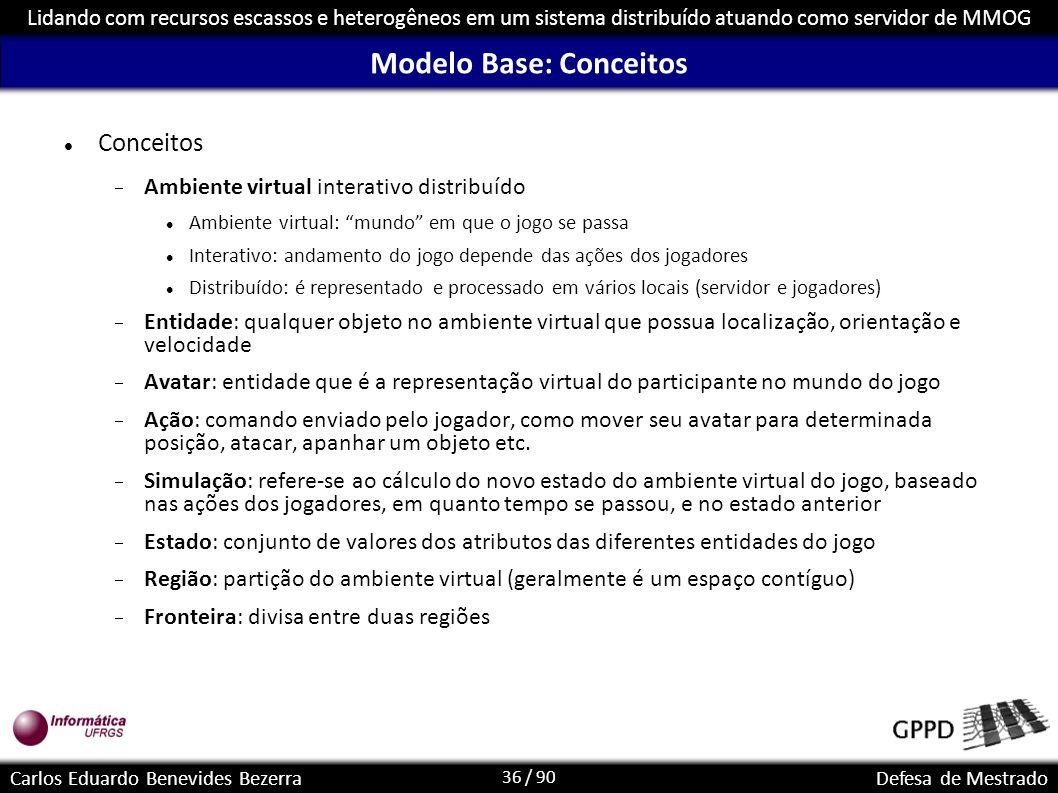 Modelo Base: Conceitos