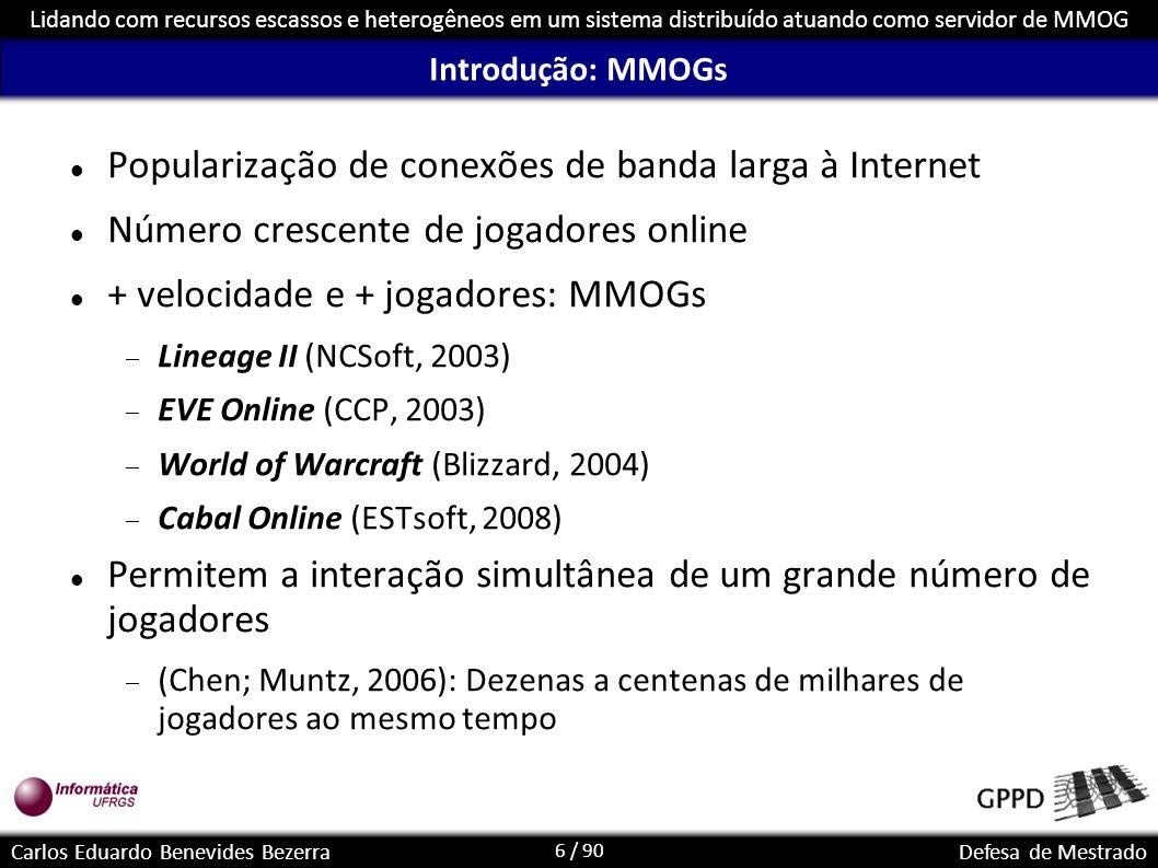 Popularização de conexões de banda larga à Internet