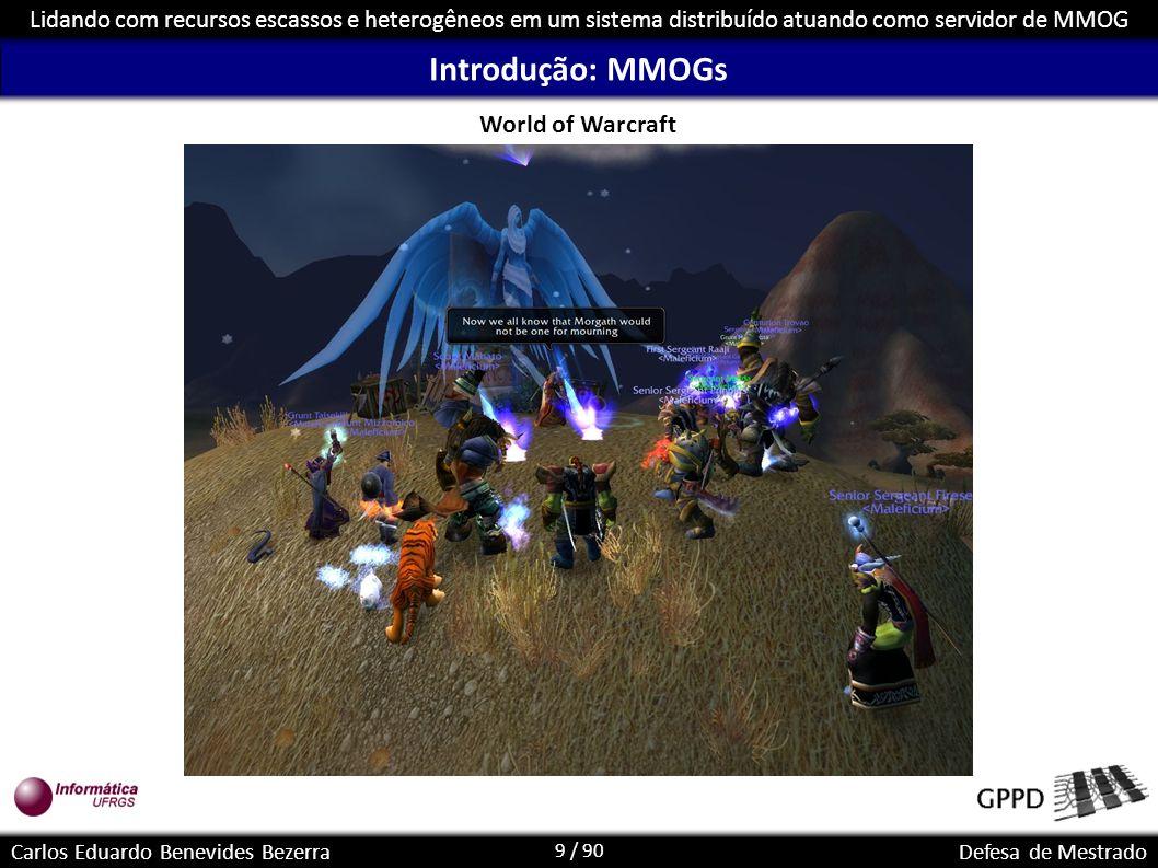 Introdução: MMOGs World of Warcraft
