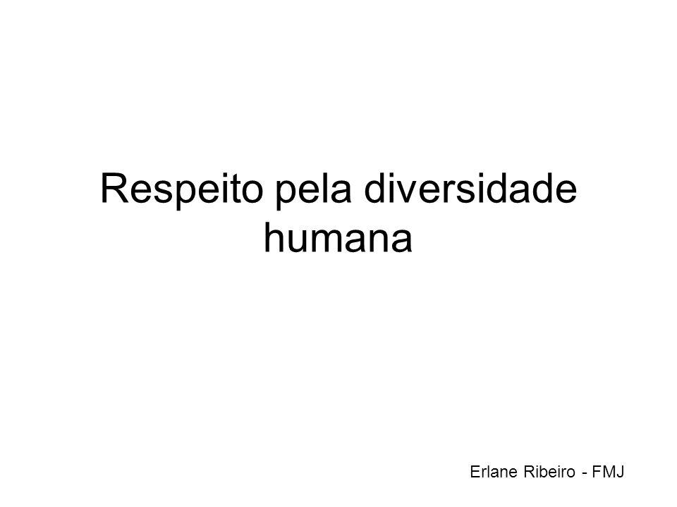 Respeito pela diversidade humana