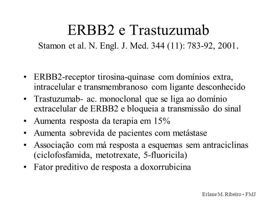 ERBB2 e Trastuzumab Stamon et al. N. Engl. J. Med