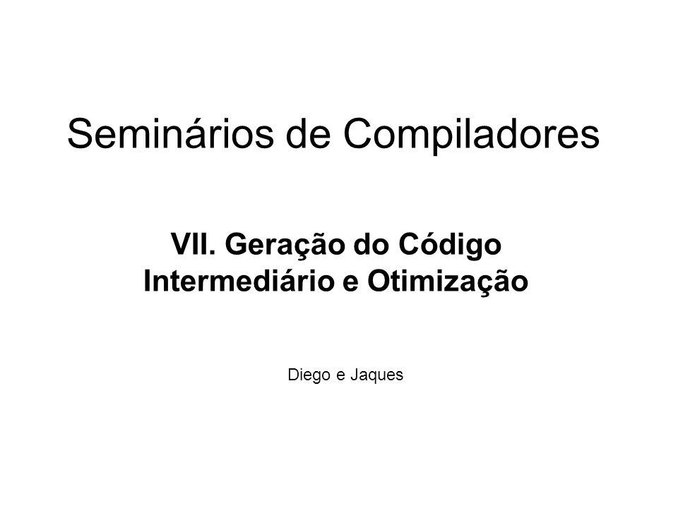 Seminários de Compiladores