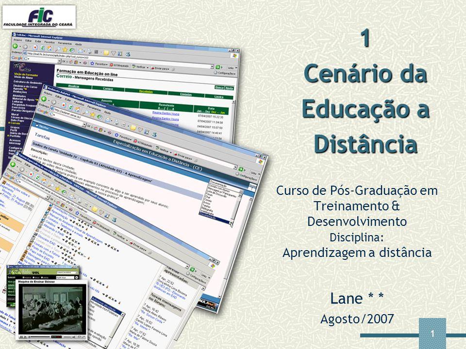 1 Cenário da Educação a Distância