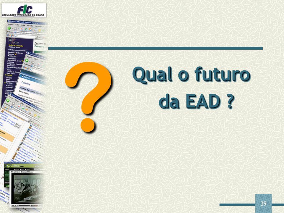 Qual o futuro da EAD
