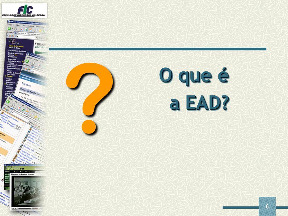 O que é a EAD