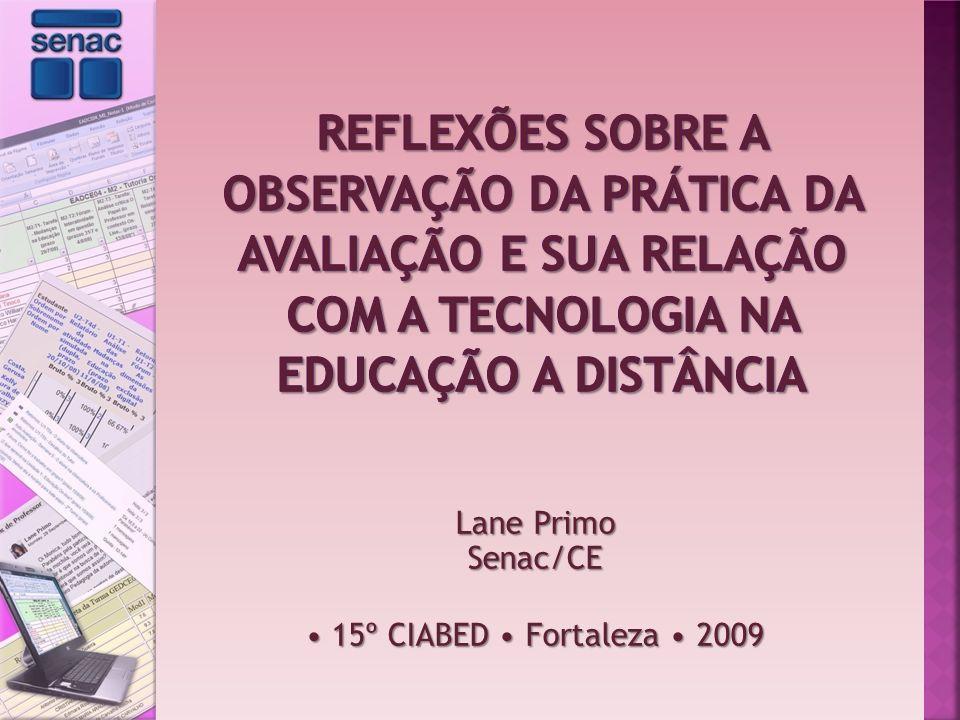 Lane Primo Senac/CE • 15º CIABED • Fortaleza • 2009
