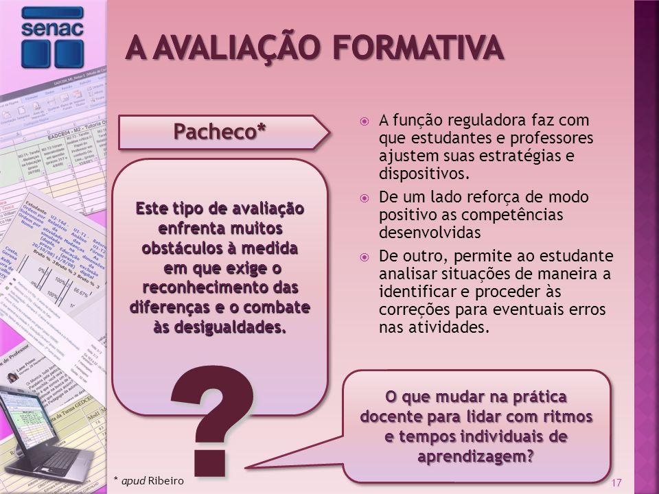A Avaliação Formativa Pacheco*